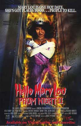 Hello Mary Lou: Prom Night 2 - 11 x 17 Movie Poster - Style B