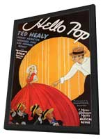 Hello Pop - 11 x 17 Movie Poster - Style A - in Deluxe Wood Frame