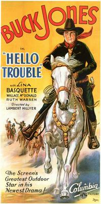 Hello Trouble - 11 x 17 Movie Poster - Style C