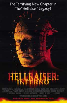 Hellraiser:  Inferno - 11 x 17 Movie Poster - Style A