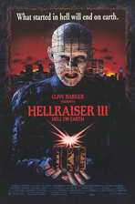 Hellraiser 3: Hell on Earth - 11 x 17 Movie Poster - Style B