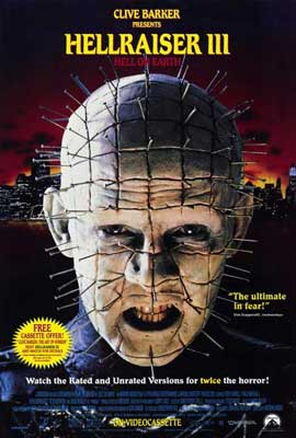Hellraiser 3: Hell on Earth - 27 x 40 Movie Poster - Style A