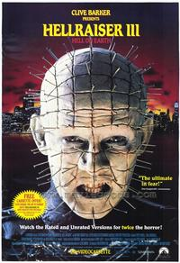 Hellraiser 3: Hell on Earth - 43 x 62 Movie Poster - Bus Shelter Style A