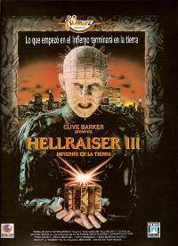 Hellraiser 3: Hell on Earth - 11 x 17 Movie Poster - Spanish Style A