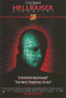 Hellraiser 4: Bloodline - 11 x 17 Movie Poster - Style A