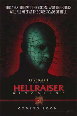 Hellraiser 4: Bloodline - 11 x 17 Movie Poster - Style B