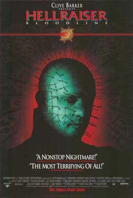 Hellraiser 4: Bloodline - 27 x 40 Movie Poster - Style A