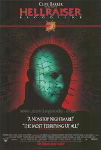 Hellraiser 4: Bloodline - 43 x 62 Movie Poster - Bus Shelter Style A