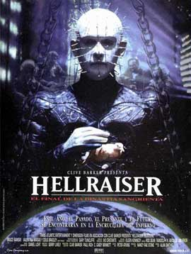 Hellraiser 4: Bloodline - 11 x 17 Movie Poster - Spanish Style A