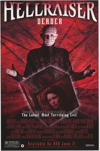 Hellraiser: Deader - 27 x 40 Movie Poster - Style A