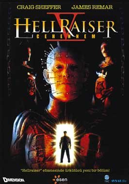 Hellraiser: Inferno - 11 x 17 Movie Poster - German Style A