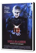 Hellraiser - 27 x 40 Movie Poster - Style A - Museum Wrapped Canvas