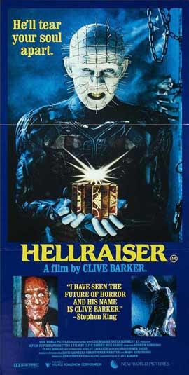 Hellraiser - 13 x 30 Movie Poster - Australian Style A
