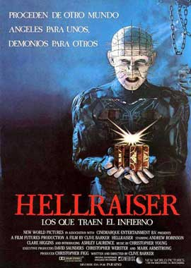Hellraiser - 11 x 17 Movie Poster - Spanish Style A