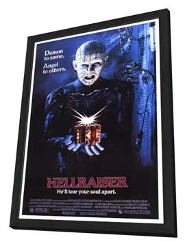 Hellraiser - 27 x 40 Movie Poster - Style A - in Deluxe Wood Frame
