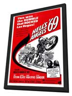 Hell's Angels '69 - 27 x 40 Movie Poster - Style A - in Deluxe Wood Frame