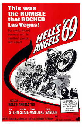Hell's Angels '69 - 11 x 17 Movie Poster - Style A