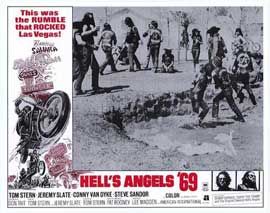 Hell's Angels '69 - 11 x 14 Movie Poster - Style A