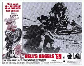 Hell's Angels '69 - 11 x 14 Movie Poster - Style B
