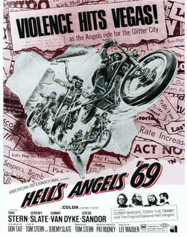 Hell's Angels '69 - 11 x 14 Movie Poster - Style D