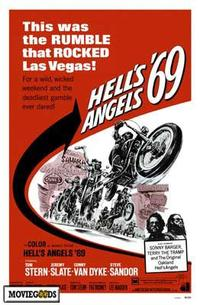 Hell's Angels '69 - 43 x 62 Movie Poster - Bus Shelter Style A
