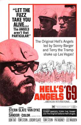 Hell's Angels '69 - 27 x 40 Movie Poster - Style B