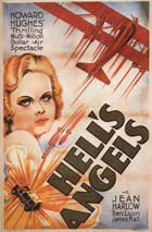 Hell's Angels - 27 x 40 Movie Poster - Style D