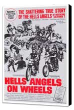 Hell's Angels on Wheels - 27 x 40 Movie Poster - Style A - Museum Wrapped Canvas