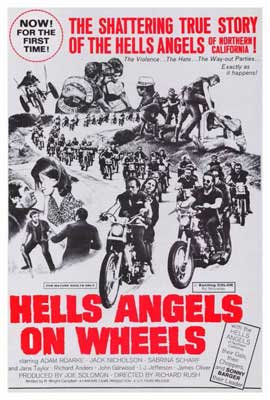 Hell's Angels on Wheels - 27 x 40 Movie Poster - Style A