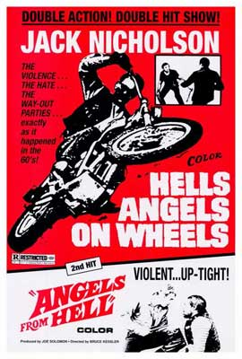 Hell's Angels on Wheels - 27 x 40 Movie Poster - Style B