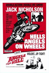 Hell's Angels on Wheels - 43 x 62 Movie Poster - Bus Shelter Style A