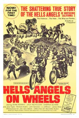 Hell's Angels on Wheels - 27 x 40 Movie Poster - Style C
