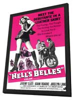 Hell's Belles - 11 x 17 Movie Poster - Style A - in Deluxe Wood Frame