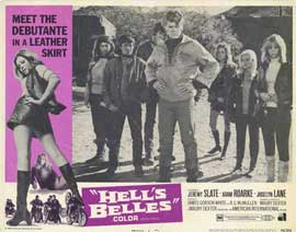 Hell's Belles - 11 x 14 Movie Poster - Style G