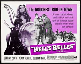 Hell's Belles - 22 x 28 Movie Poster - Half Sheet Style A
