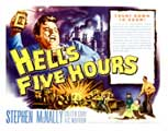Hell's Five Hours - 22 x 28 Movie Poster - Half Sheet Style A