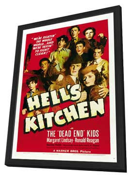 Hell's Kitchen - 11 x 17 Movie Poster - Style A - in Deluxe Wood Frame