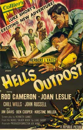 Hell's Outpost - 11 x 17 Movie Poster - Style A