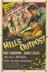 Hell's Outpost - 43 x 62 Movie Poster - Bus Shelter Style A