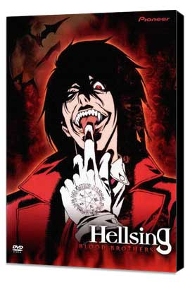 Hellsing (TV) - 11 x 17 TV Poster - Style D - Museum Wrapped Canvas