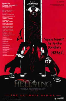 Hellsing Ultimate OVA Series (TV) - 11 x 17 TV Poster - Style A