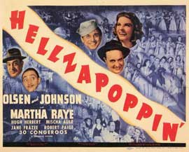 Hellzapoppin - 11 x 14 Movie Poster - Style A