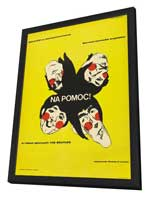 Help! - 27 x 40 Movie Poster - Polish Style A - in Deluxe Wood Frame