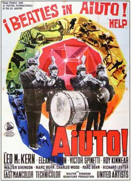 Help! - 11 x 17 Movie Poster - Italian Style A