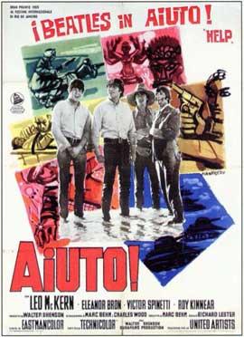 Help! - 11 x 17 Movie Poster - Italian Style B