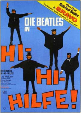 Help! - 11 x 17 Movie Poster - German Style B