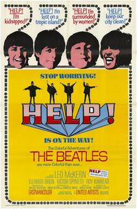 Help! - 43 x 62 Movie Poster - Bus Shelter Style A
