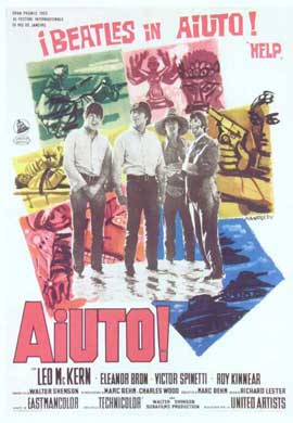 Help! - 27 x 40 Movie Poster - Italian Style A