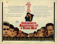 Hemingways Adventures of a Young Man - 22 x 28 Movie Poster - Half Sheet Style A
