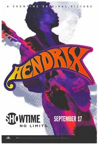 Hendrix - 24 x 36 Movie Poster - Style A